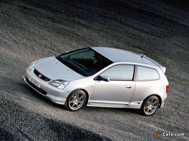 Honda Civic Type-R UK-spec (EP3) 2001–03 wallpapers (640x480)
