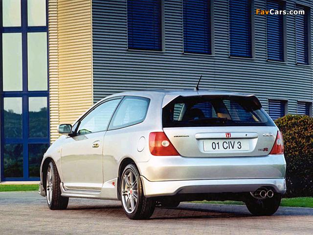 Honda Civic Type-R UK-spec (EP3) 2001-03 wallpapers (640x480)