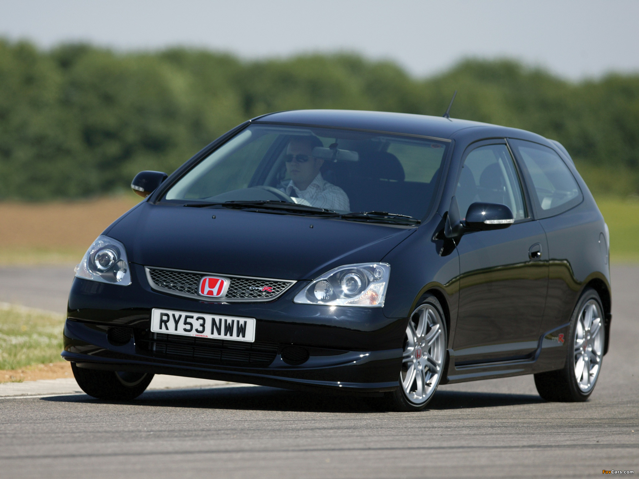 honda civic type r uk spec ep3 2003 05 wallpapers. Black Bedroom Furniture Sets. Home Design Ideas