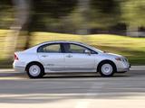 Honda Civic NGV Sedan 2006–08 images