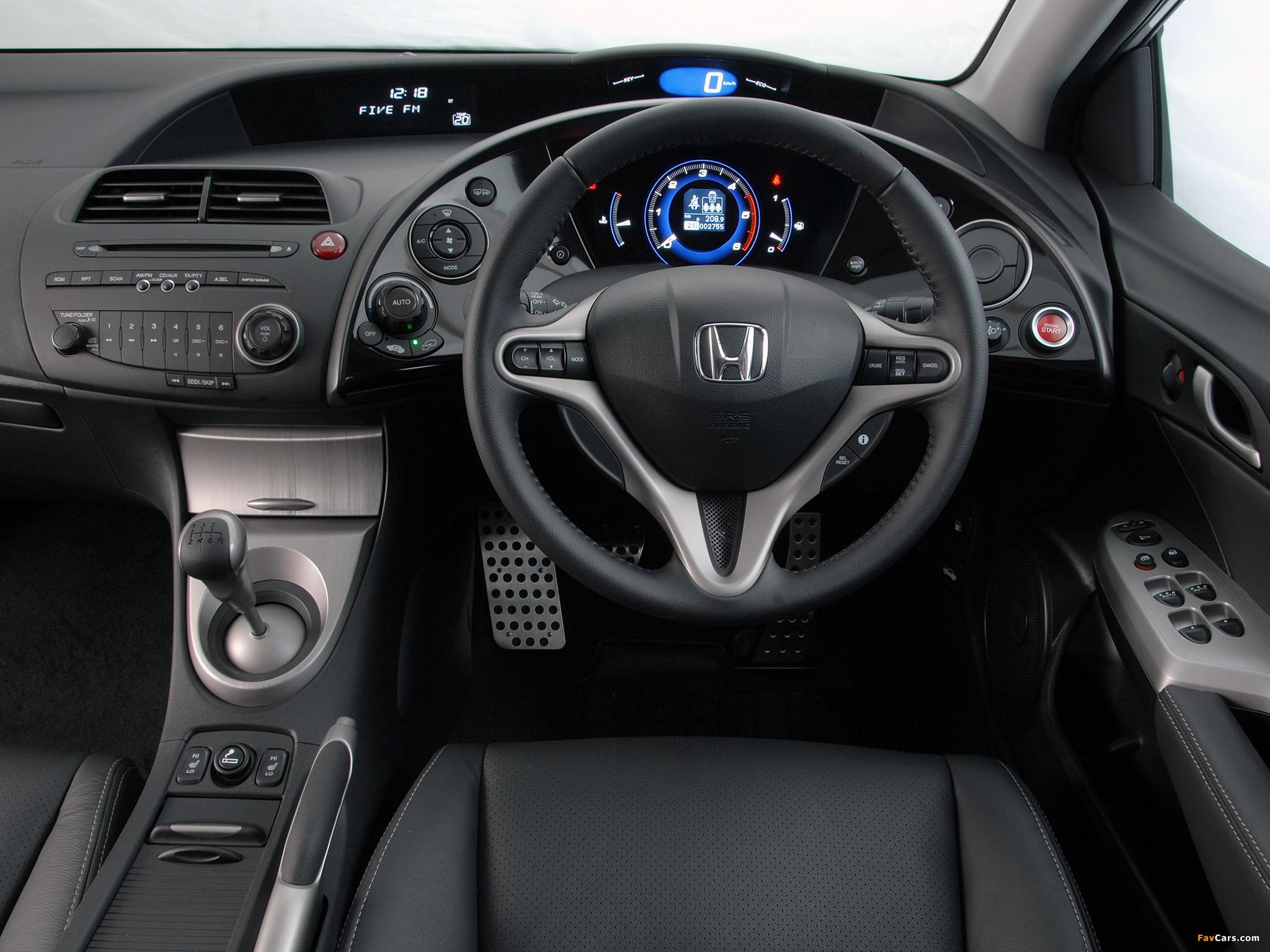 Honda civic hatchback za spec fn 2006 08 images 2048x1536 for Honda civic 2006 hatchback