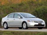 Honda Civic NGV Sedan 2006–08 pictures