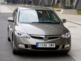 Honda Civic Hybrid (FD3) 2006–08 pictures