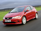 Honda Civic Type-R UK-spec (FN2) 2007–08 wallpapers