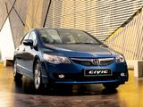 Honda Civic Sedan (FD) 2008–11 images