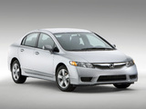 Honda Civic Sedan US-spec 2008–11 photos