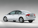 Honda Civic Sedan US-spec 2008–11 pictures