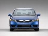 Honda Civic Hybrid US-spec 2008–11 pictures