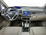 Honda Civic Hybrid US-spec 2008–11 wallpapers