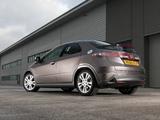 Honda Civic Hatchback UK-spec (FN) 2010–11 images