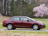 Honda Civic Sedan US-spec 2011 images