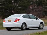 Honda Civic HF US-spec 2011–12 images