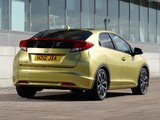 Honda Civic Hatchback UK-spec 2011 pictures