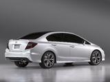 Honda Civic Sedan Concept 2011 wallpapers
