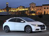 Honda Civic Hatchback ZA-spec 2012 images