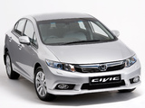 Honda Civic Sedan ZA-spec 2012 images