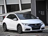 Honda Civic Hatchback ZA-spec 2012 photos