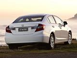 Honda Civic Sedan AU-spec 2012 photos