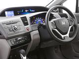 Honda Civic Hybrid AU-spec 2012 photos