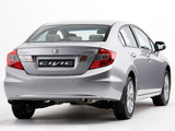 Honda Civic Sedan ZA-spec 2012 photos