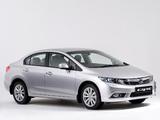 Honda Civic Sedan ZA-spec 2012 photos