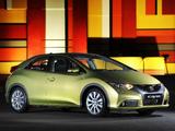 Honda Civic Hatchback ZA-spec 2012 pictures