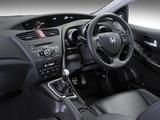 Honda Civic Hatchback ZA-spec 2012 wallpapers
