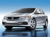 Honda Civic CNG 2013 photos