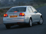 Images of Honda Civic Sedan UK-spec 2001–03