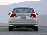 Images of Honda Civic Sedan US-spec 2003–06
