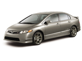 Images of Honda Civic Si Sedan 2007–08