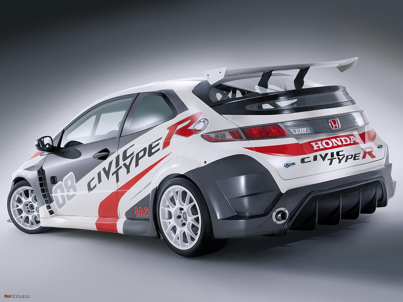 Images Of Honda Civic Type R Race Car (FN2) 2008u201311 (