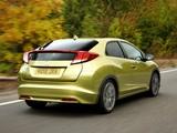 Images of Honda Civic Hatchback UK-spec 2011