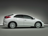 Images of Honda Civic Hatchback 2011