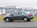 Images of Honda Civic Sedan US-spec 2011
