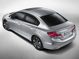 Images of Honda Civic Sedan US-spec 2013