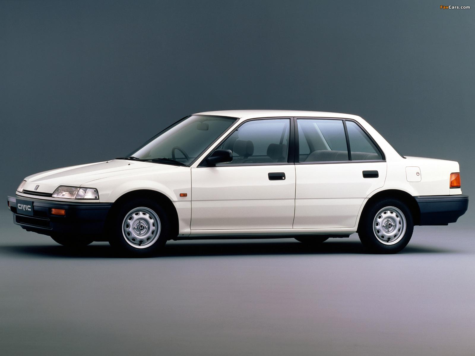 Photos of honda civic sedan ef 1988 91 1600x1200 for Honda civic 1988