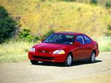 Photos of Honda Civic Coupe (EJ7) 1996–2000