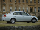 Photos of Honda Civic Sedan UK-spec 2001–03