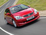 Photos of Honda Civic Sport UK-spec (EU) 2003–05