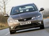 Photos of Honda Civic Hatchback UK-spec (FN) 2010–11
