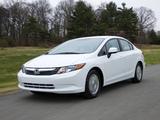 Photos of Honda Civic HF US-spec 2011–12