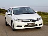 Photos of Honda Civic Sedan AU-spec 2012