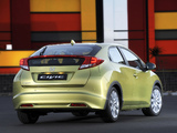 Photos of Honda Civic Hatchback ZA-spec 2012