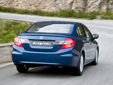 Photos of Honda Civic Sedan ZA-spec 2012