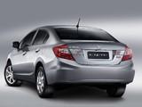 Photos of Honda Civic Sedan BR-spec 2013