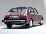 Pictures of Honda Civic 4-door 1976–78