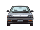 Pictures of Honda Civic Sedan 1983–87