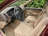 Pictures of Honda Civic Sedan US-spec 2001–03
