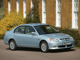 Pictures of Honda Civic Sedan UK-spec 2001–03